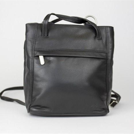 Bear Design Shopper/Rugtas B6029 Zwart