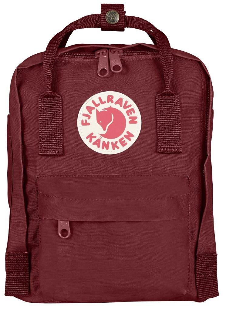 Fjallraven Kanken Mini Backpack F23561 Ox Red