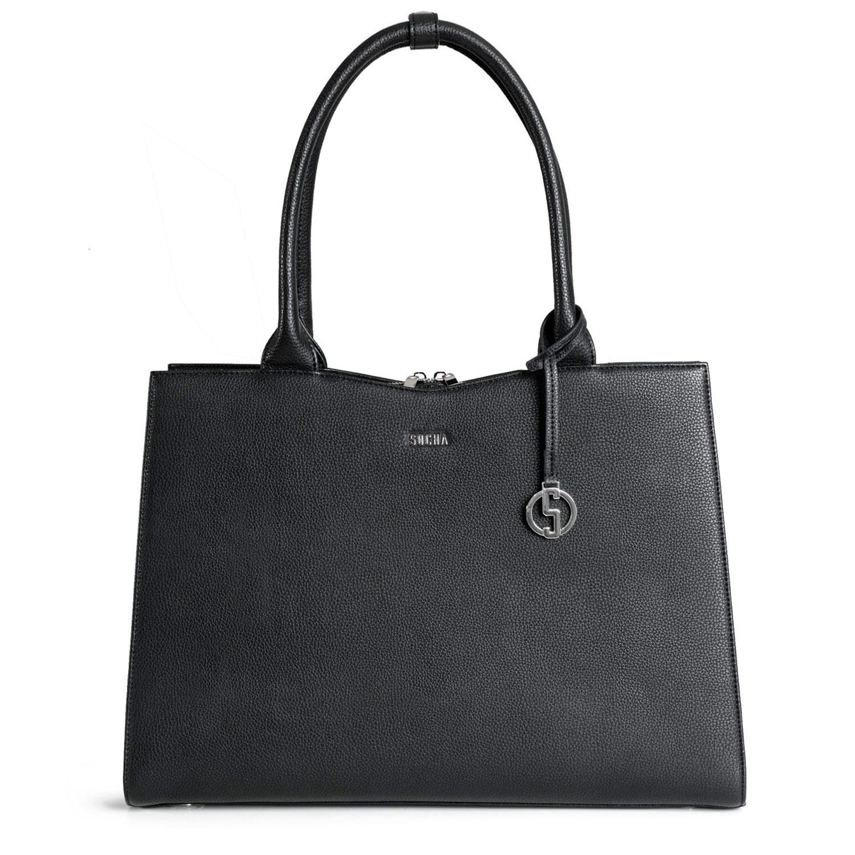 Socha Businessbag Straight Line Black - 14