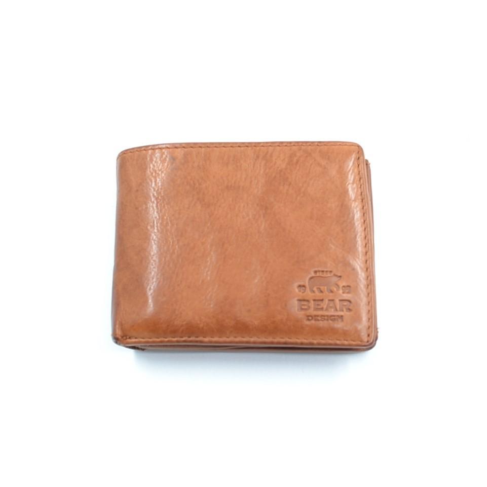 Bear Design Billfold CL7254 Cognac
