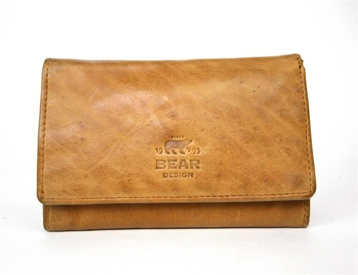 Bear Design Dames Portemonnee CL15572 Oker Geel