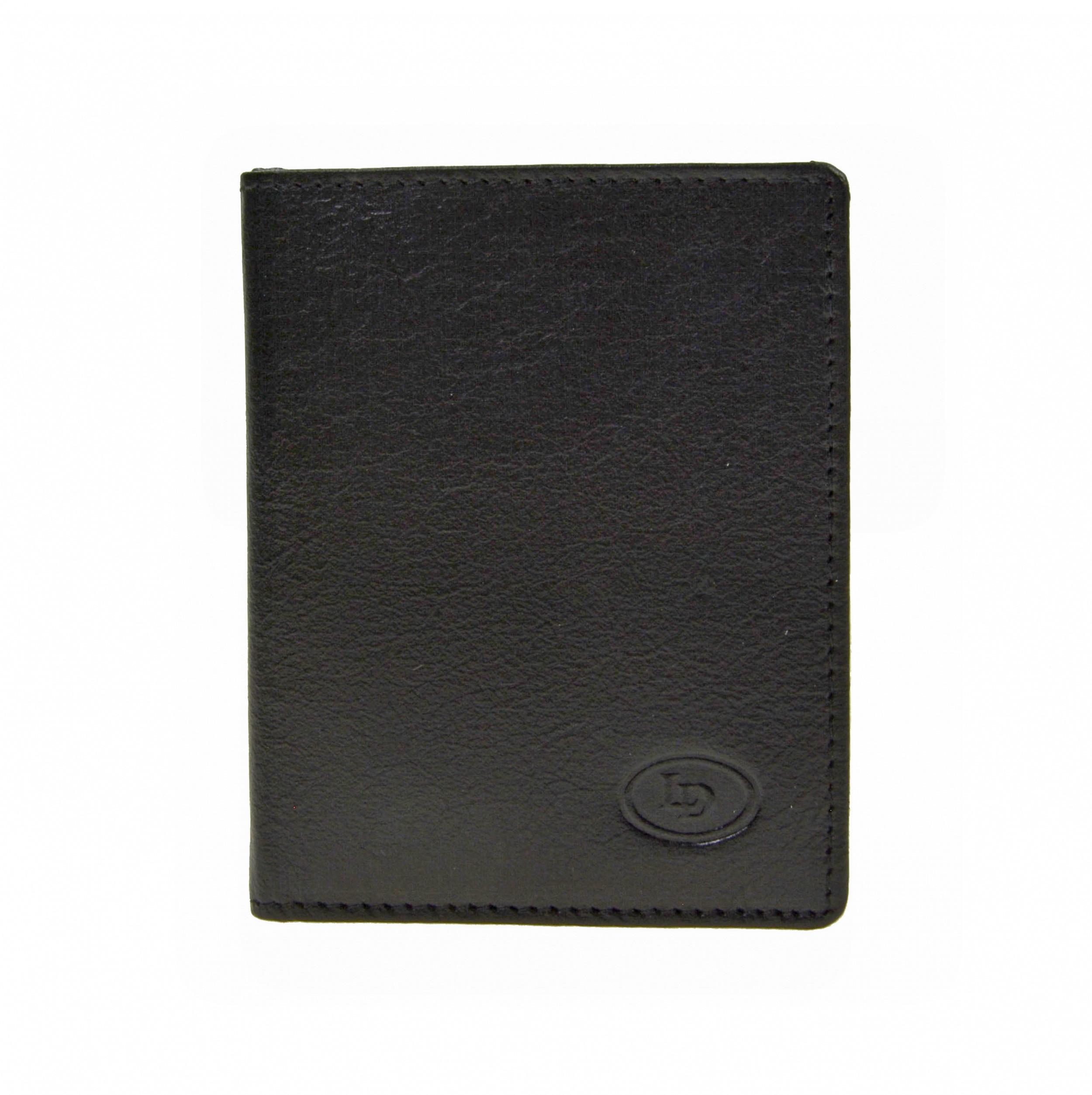 Leather Design Creditcard etui KA 1119 Zwart