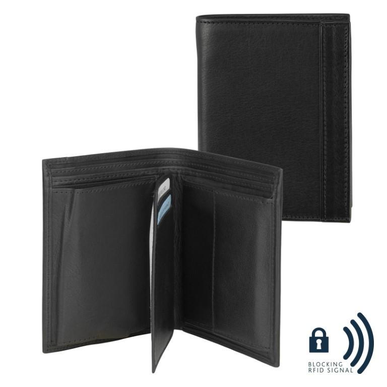 dR Amsterdam Wallet CC Comp. 67513 Black