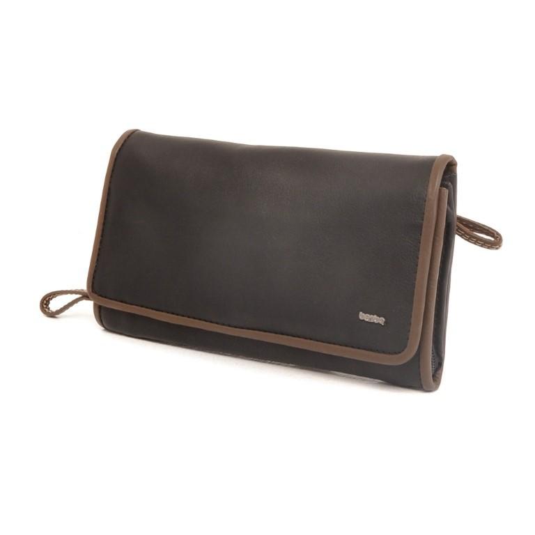 Berba Soft ladies wallet 001-503 Black-Taupe