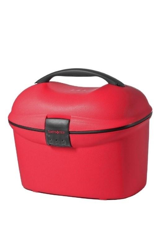 Samsonite Cabin Collection Beauty Case/Strap Crimson Red