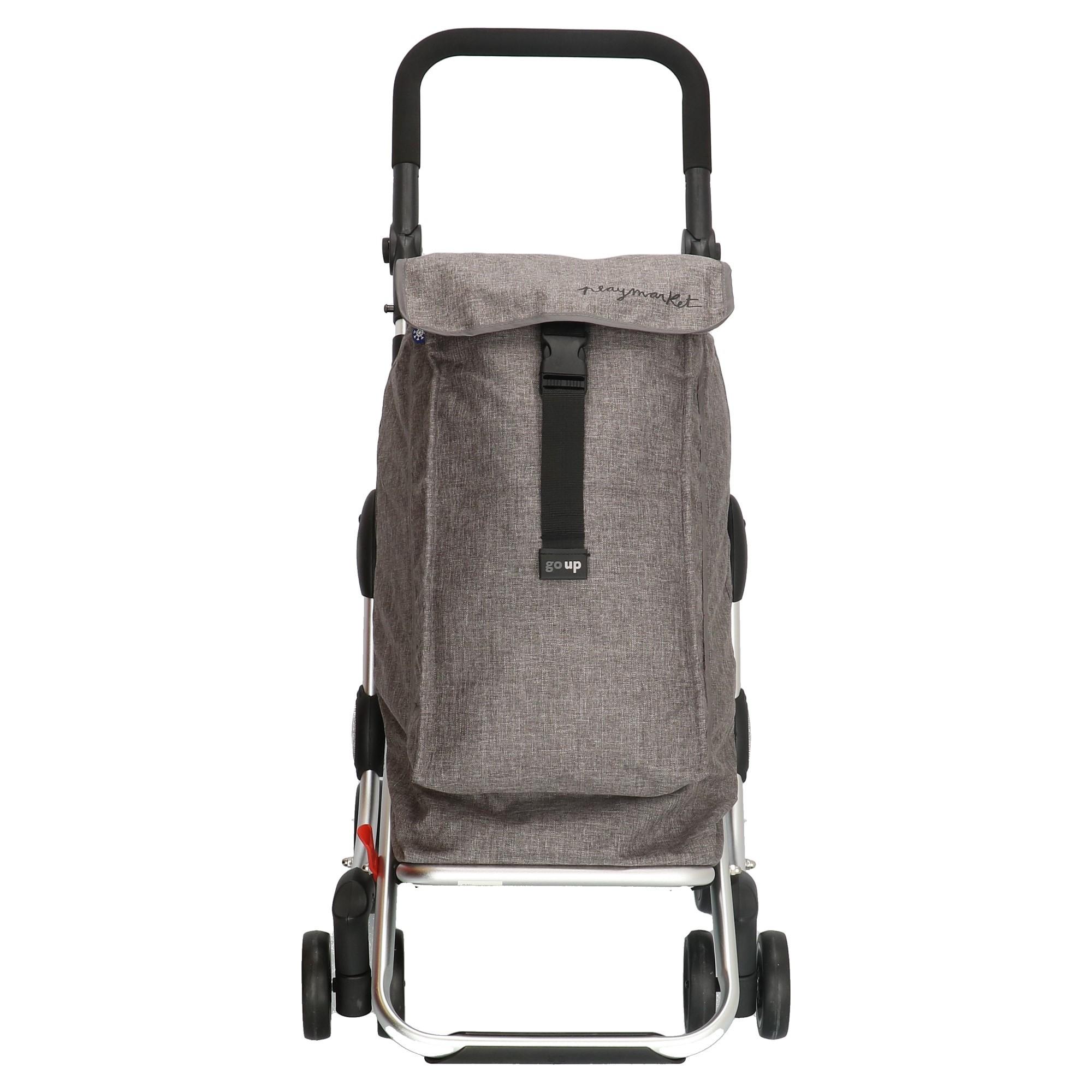 Playmarket Go Up Boodschappentrolley grijs