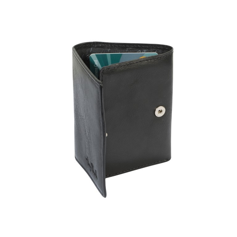 Tony Perotti - Furbo Pure portemonnee met bankbiljetvak - Zwart