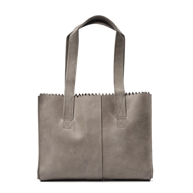 MYOMY MY PAPER BAG Handbag - Hunter Taupe