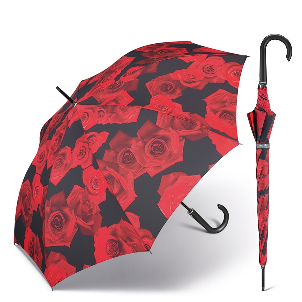 Happy Rain Long AC Kinematic Red Rose