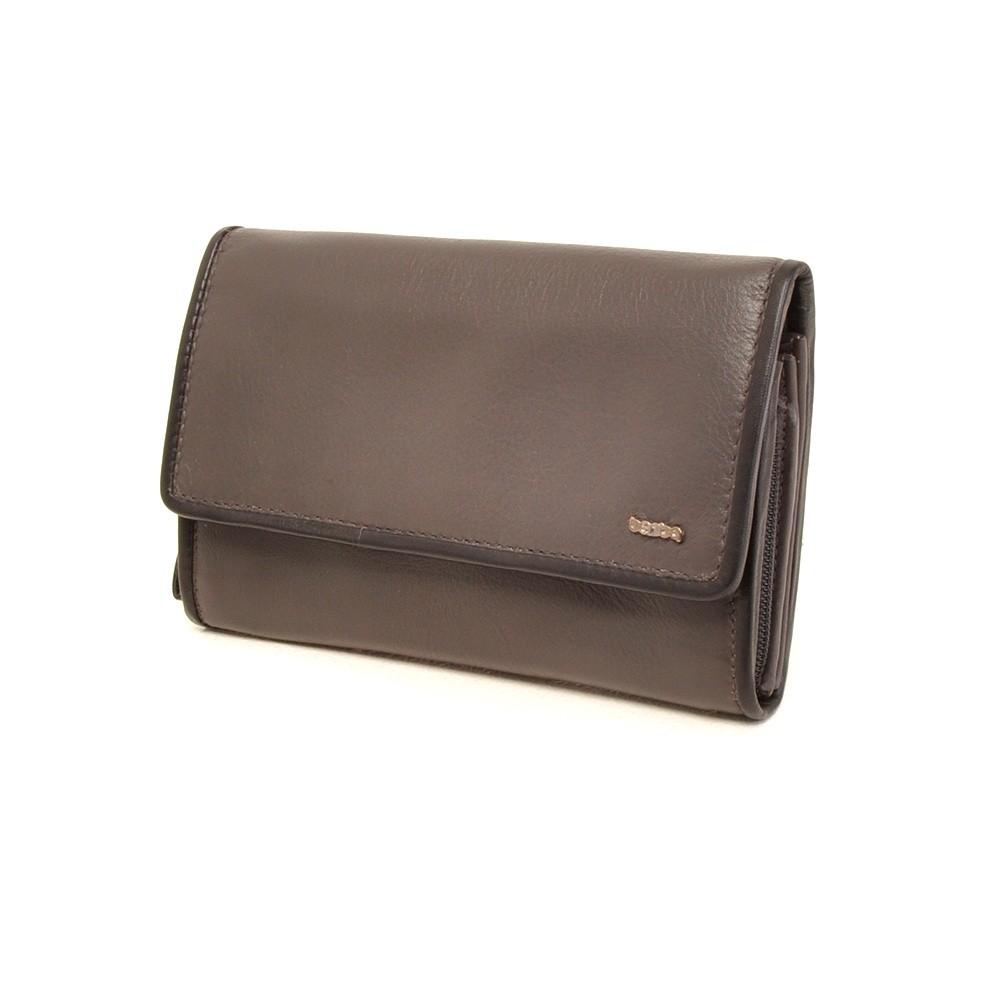Berba Soft 001-203 Ladies Wallet Grey-Black