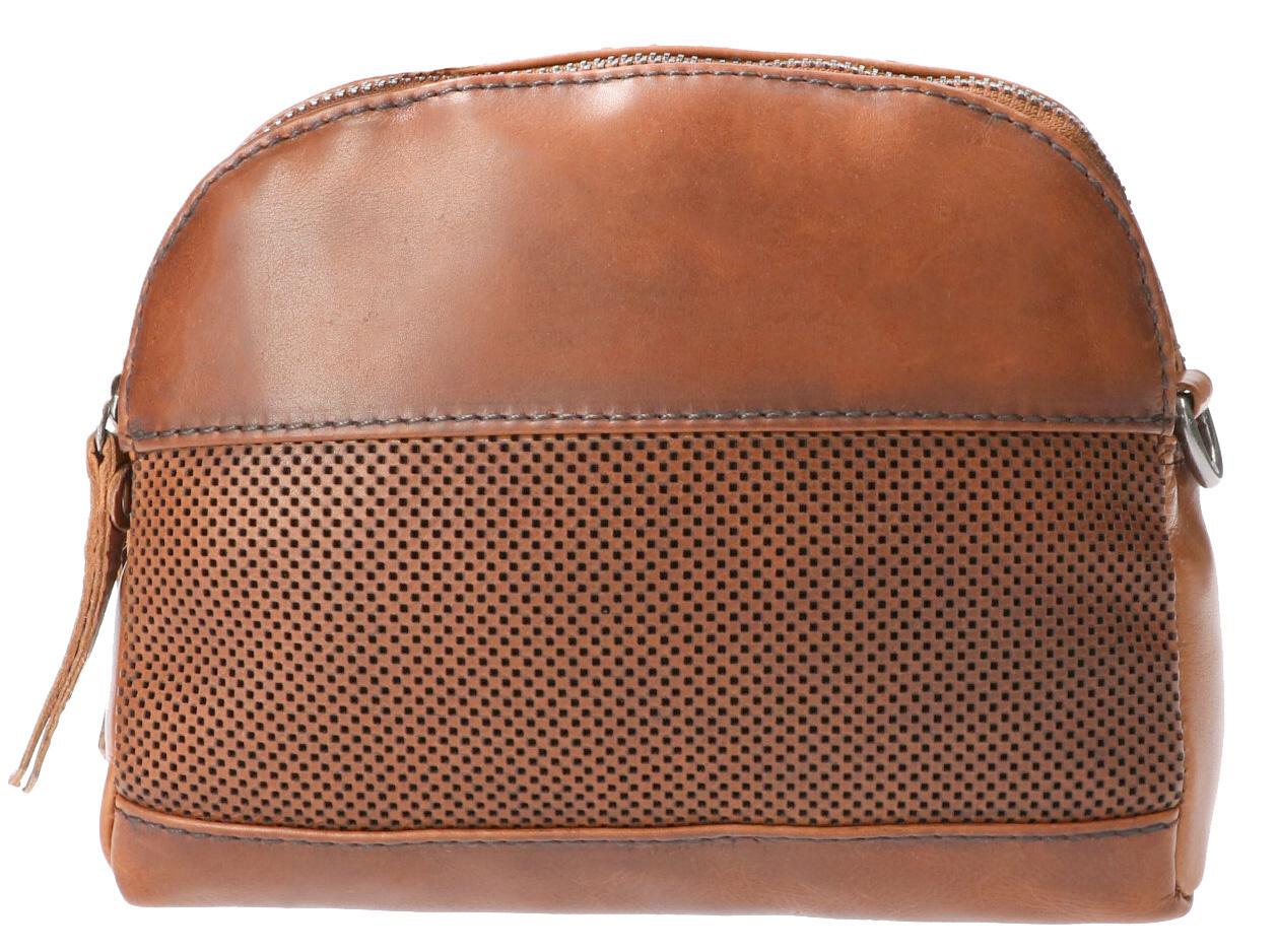 Leather Design Schoudertas DO20-A12 Tobacco
