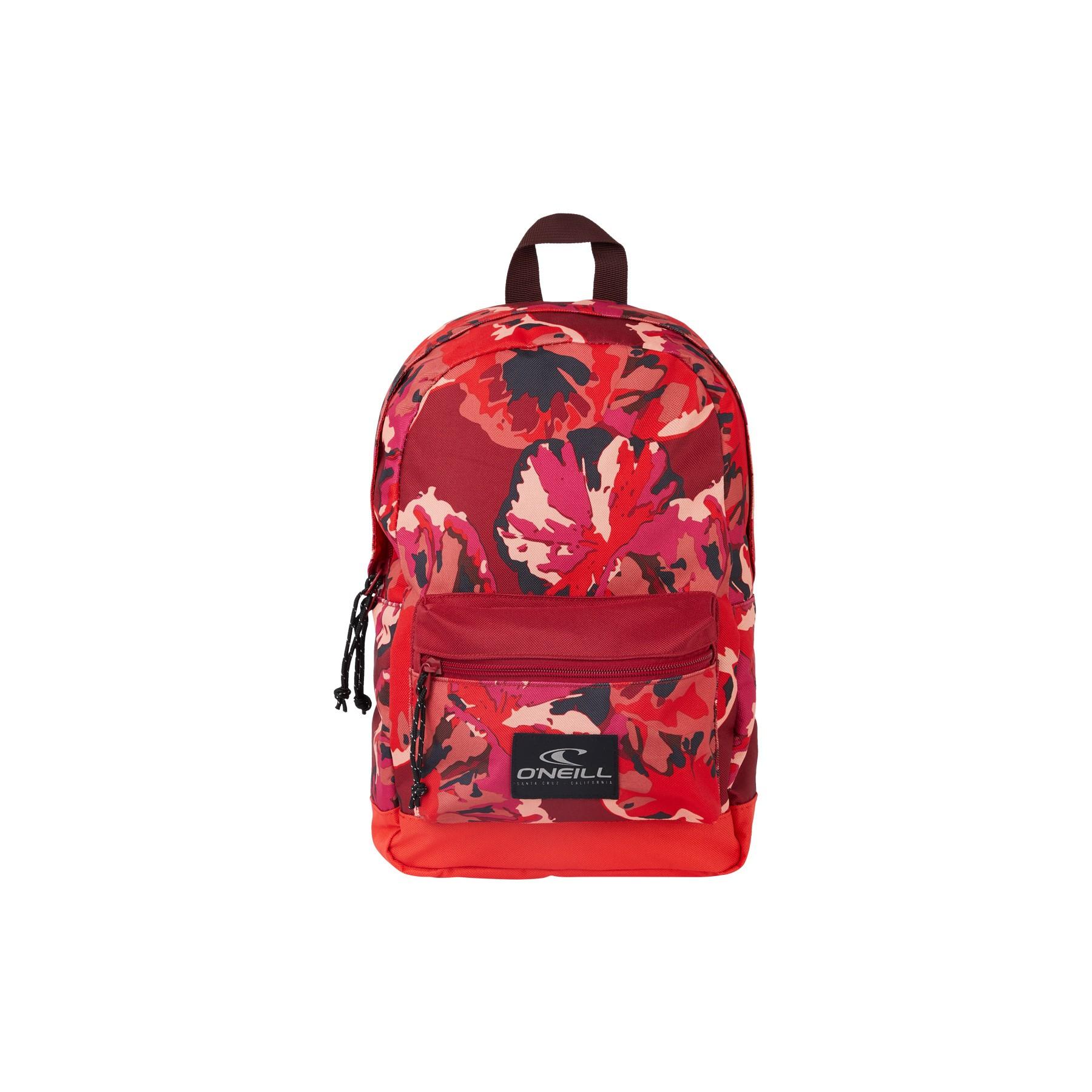O'Neill Coastline Mini Backpack 3940 Red AOP
