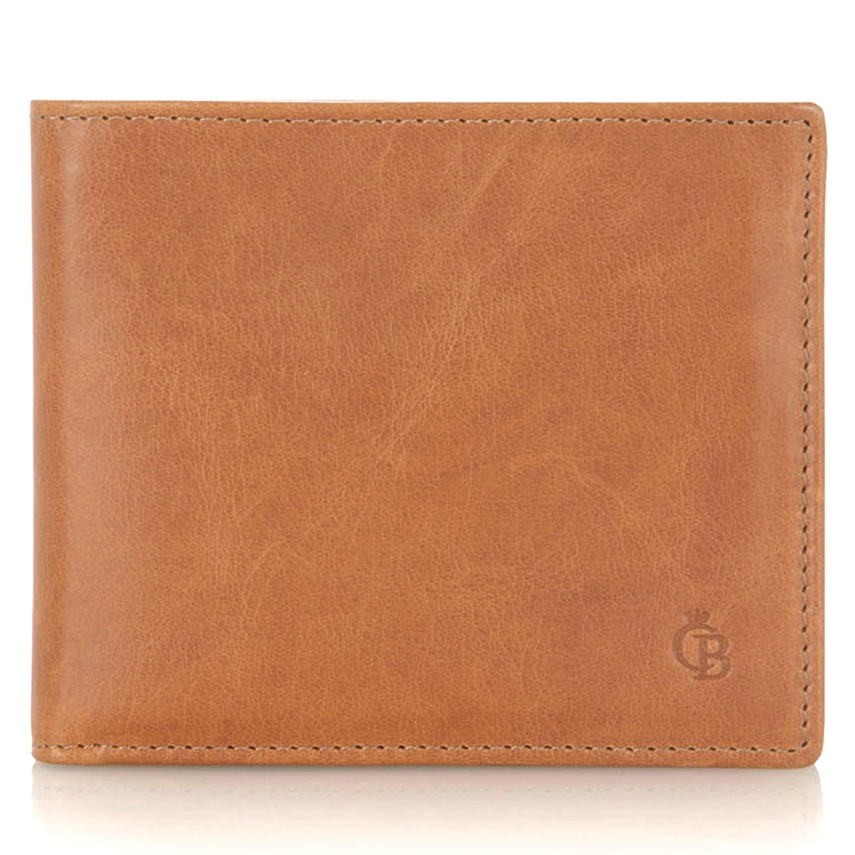 Castelijn & Beerens, 48 4288 Billfold 8 creditcards Licht Bruin