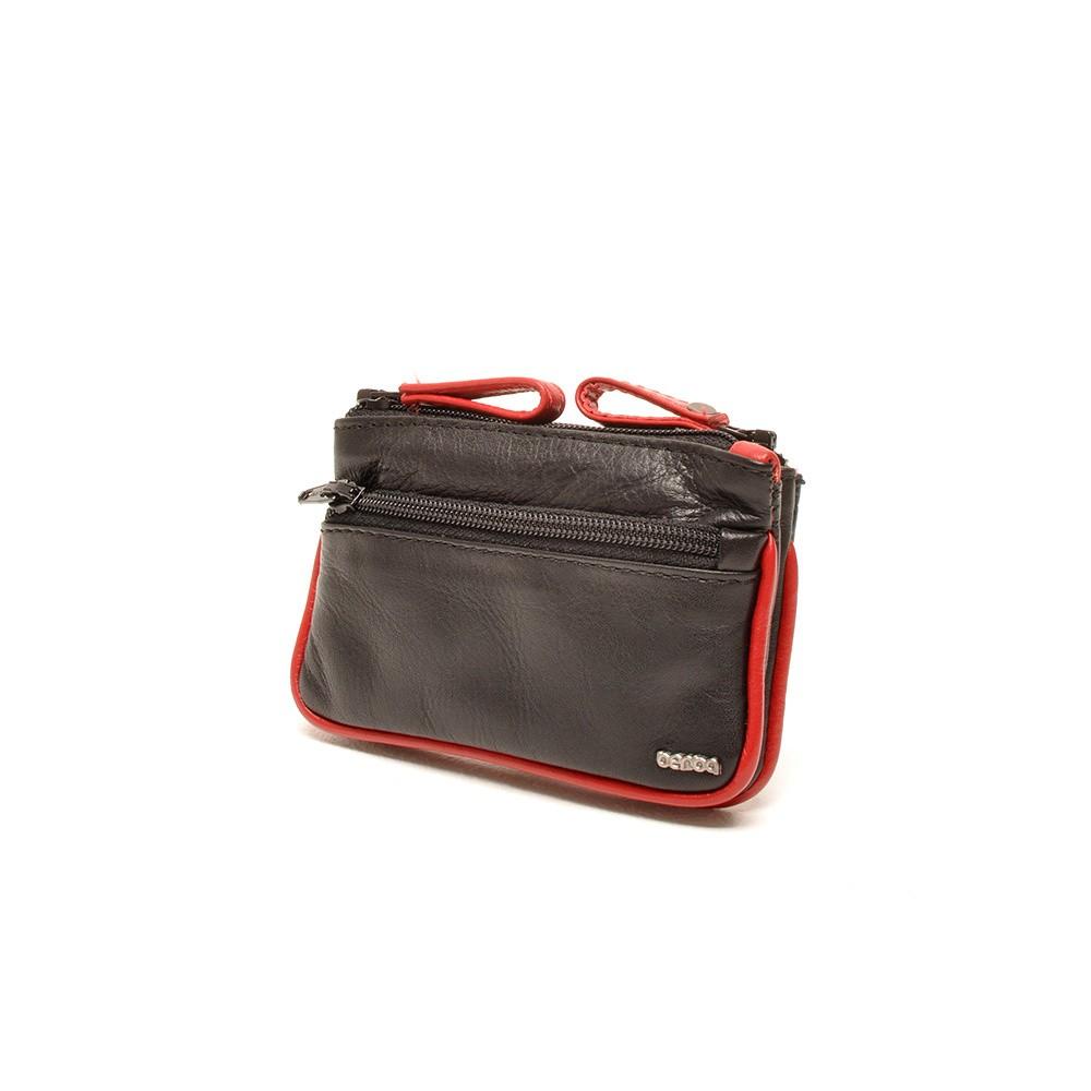 Berba Soft 003-095 Key Pouch Black-Red