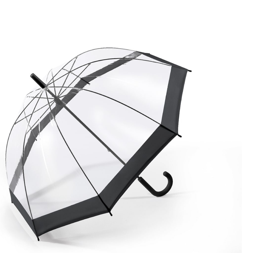 Happy Rain Long Domeshape Black