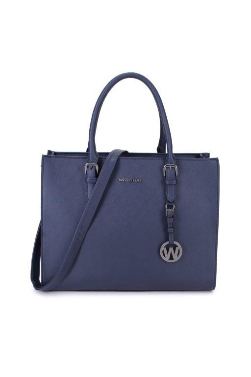 Wimona Bags Natalia One Schoudertas 3016 Donker Blauw
