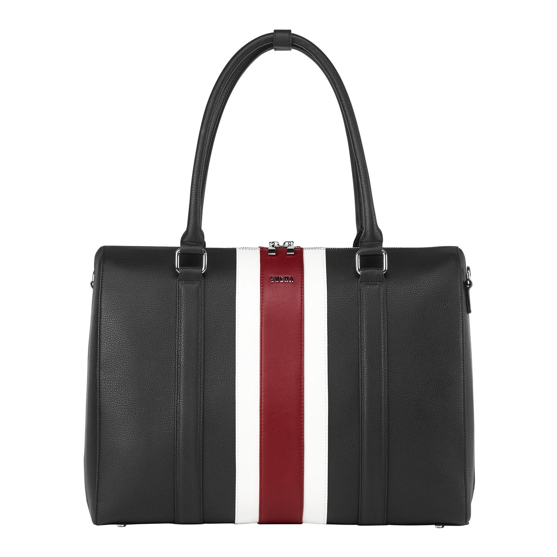 Socha Business Bowl Bag Red Stripe 15,6