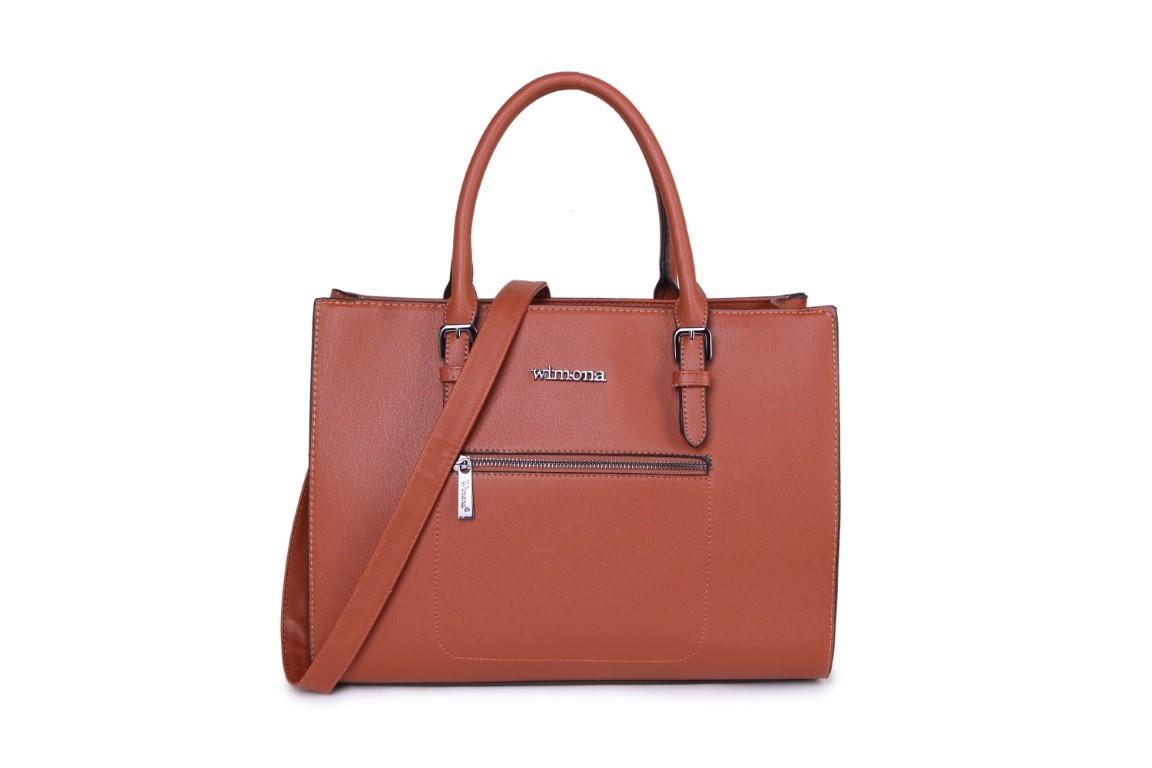 Wimona Bags Natalia Schoudertas 3015 Cognac