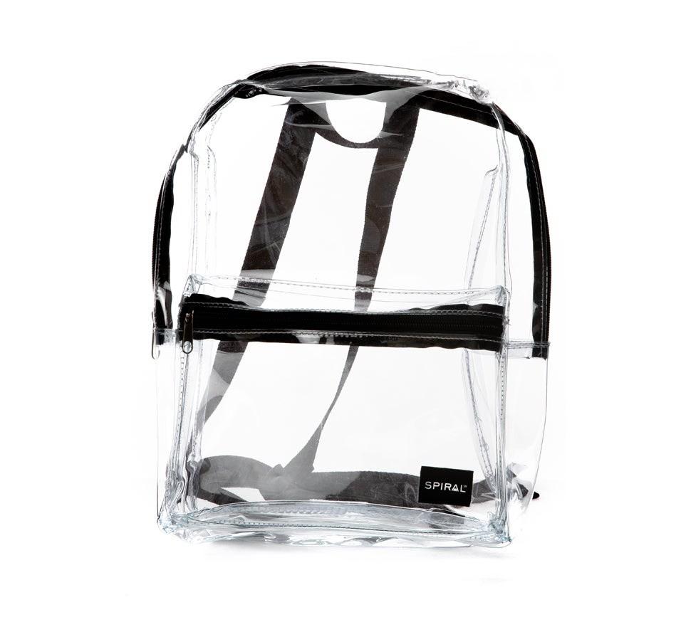 Spiral Mini OG Backpack Transparent Clear