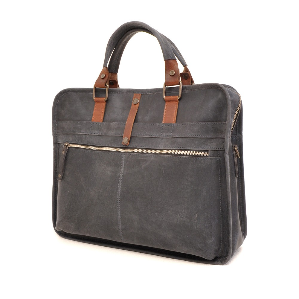 Barbarossa Ruvido 826-129 Single Section Businessbag Navy
