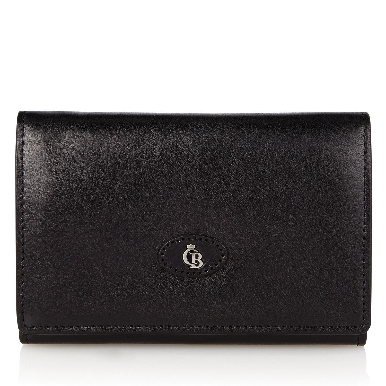 Castelijn & Beerens, 42 2121 Dames portemonnee beugel Zwart