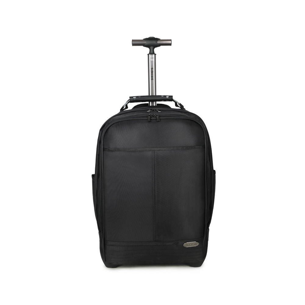 Decent B-To Work Laptop Backpack/Wheels Black