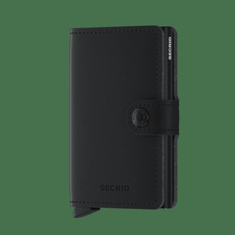 Secrid Miniwallet Soft Touch Black