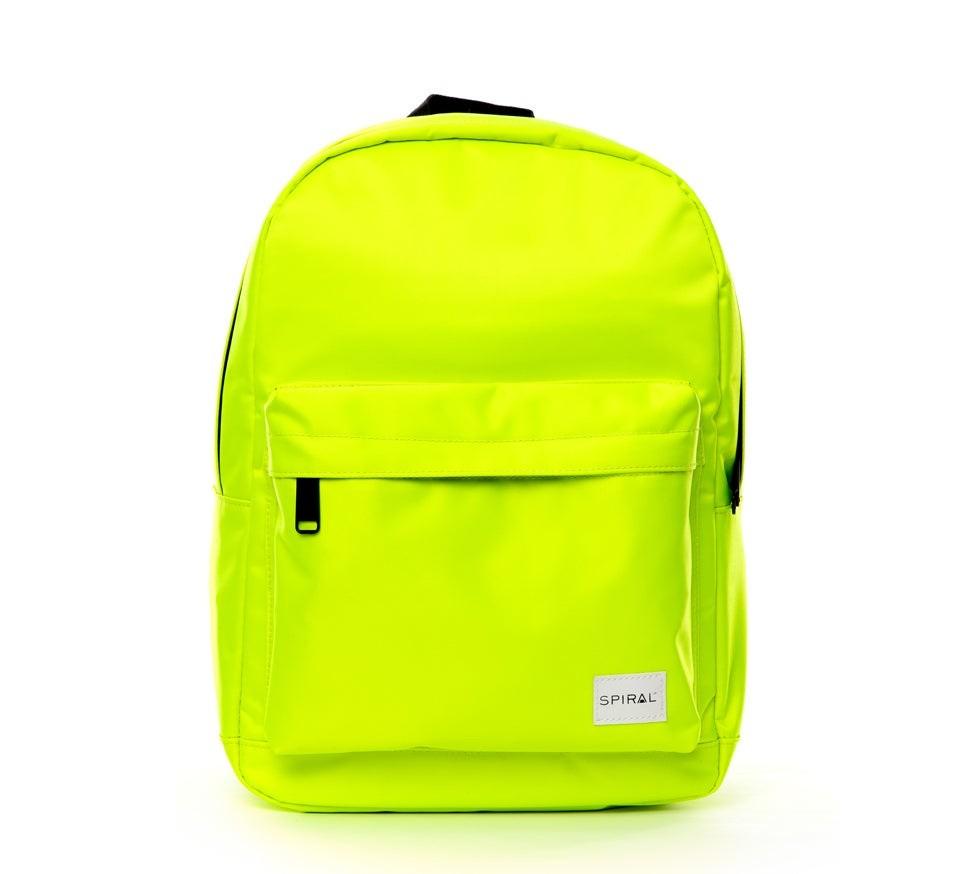 Spiral Mini OG Backpack Neon Yellow