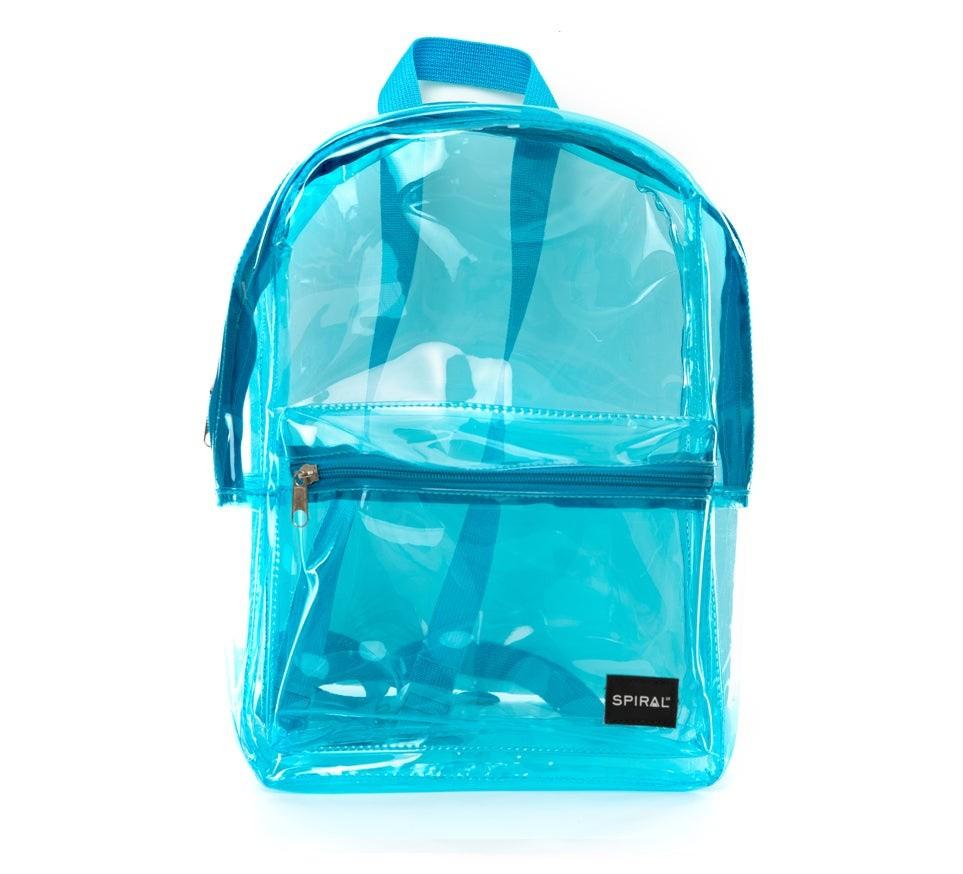 Spiral Mini OG Backpack Transparent Blue