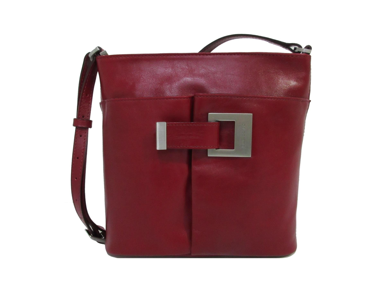 Claudio Ferrici Classico Crossbag 18052 Red