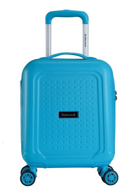 Decent Maxi-Air Spinner Handbagage Trolley 42 cm RK-7229A Blauw