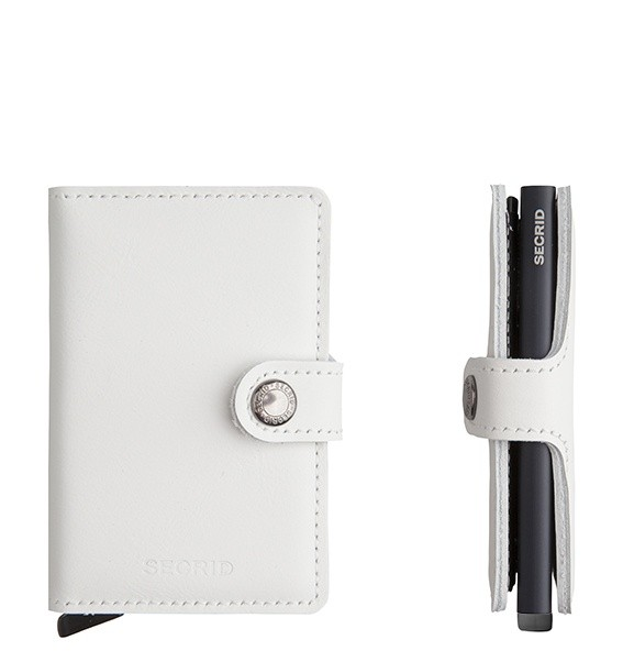 Secrid Miniwallet Limited White-Black