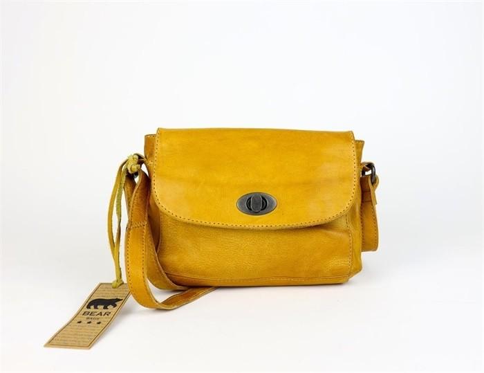 Bear Design Schoudertas 'Candice' CP1687 Yellow