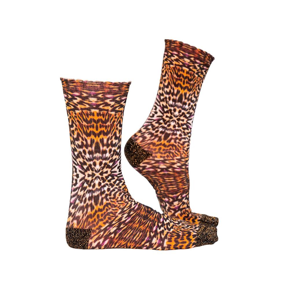 Sock My Feet Leopard Skin
