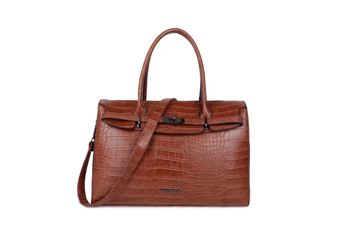 Wimona Bags Sofia Laptoptas 14.1 inch 5003 Cognac