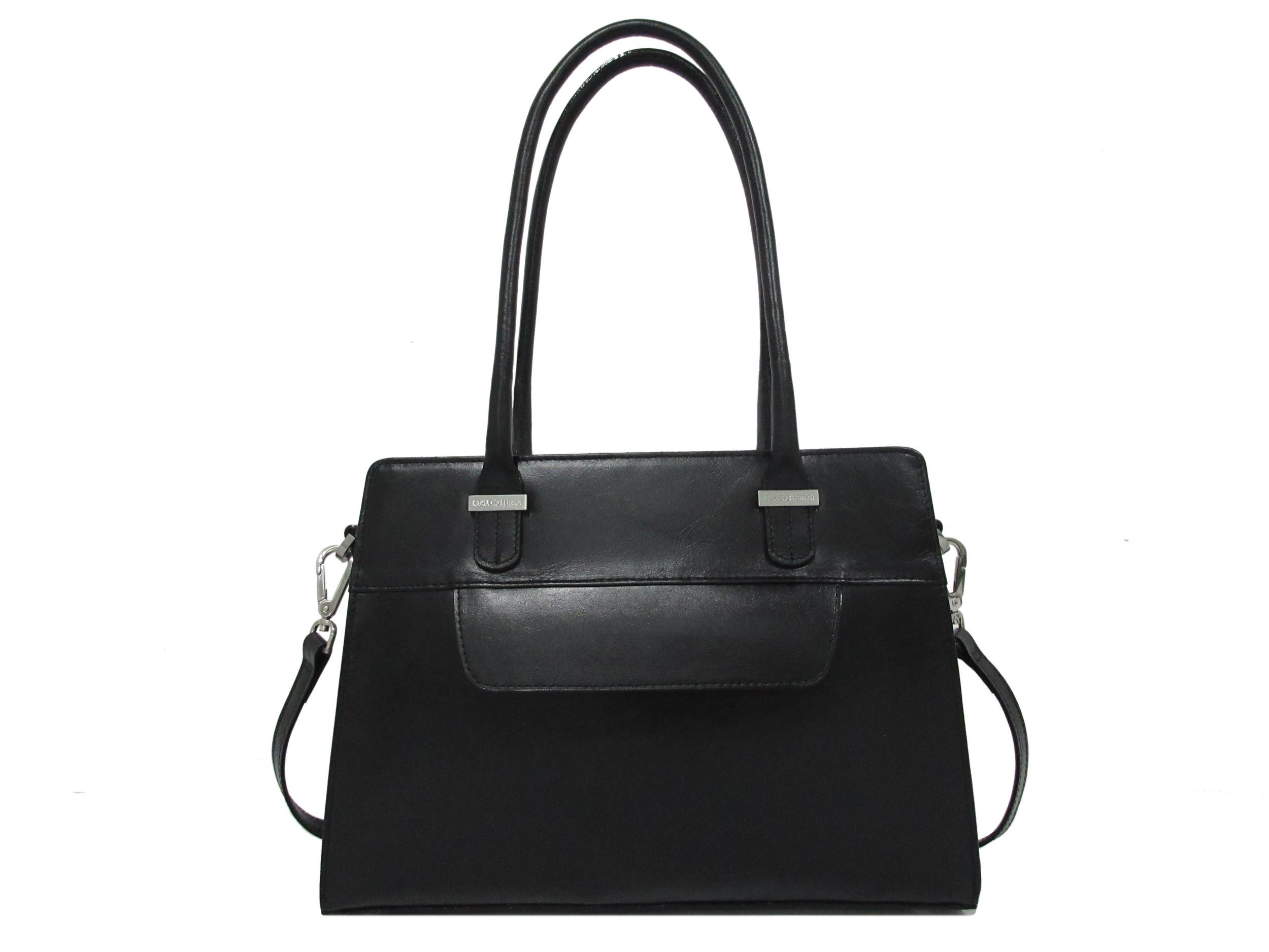 Claudio Ferrici Classico Handbag 18006 Black