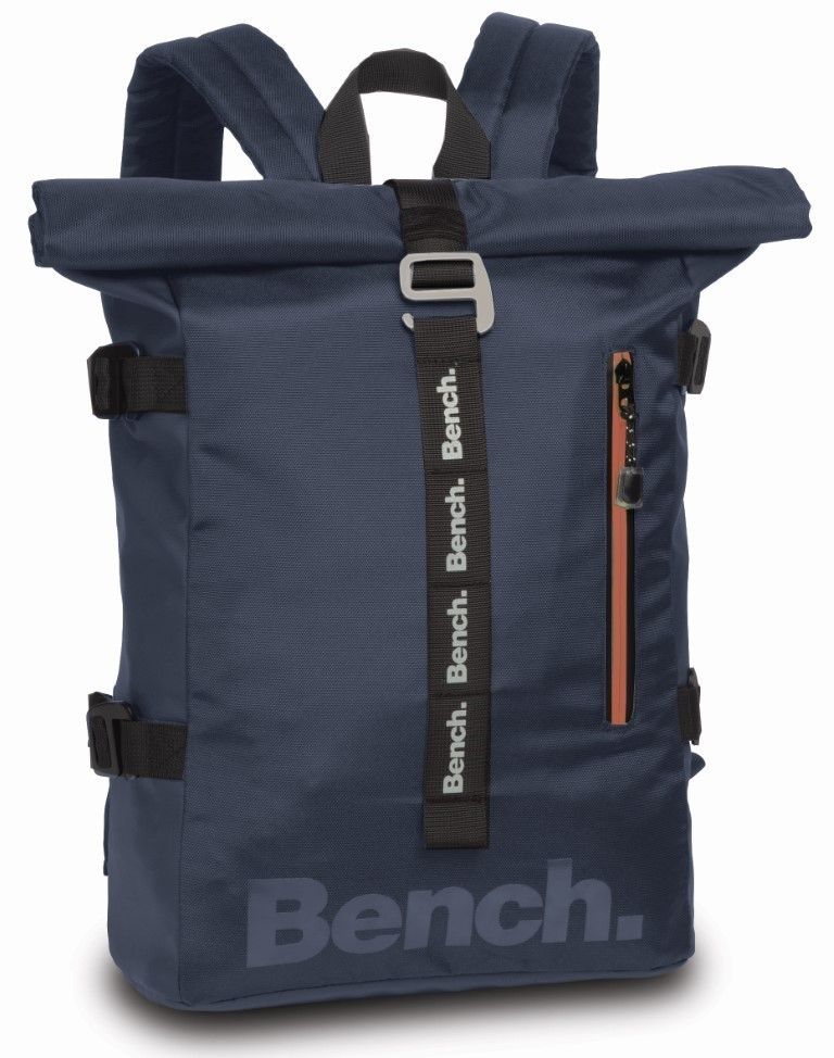 Bench Roll-Top Backpack 64156 Donker Blauw