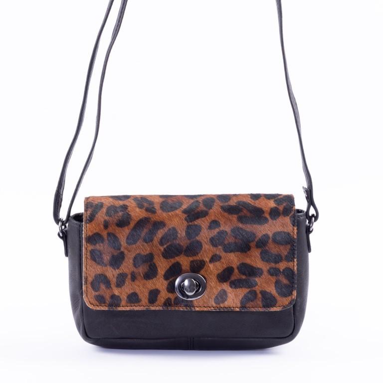 DSTRCT Dames Crossover 157490 Black Dark Leopard