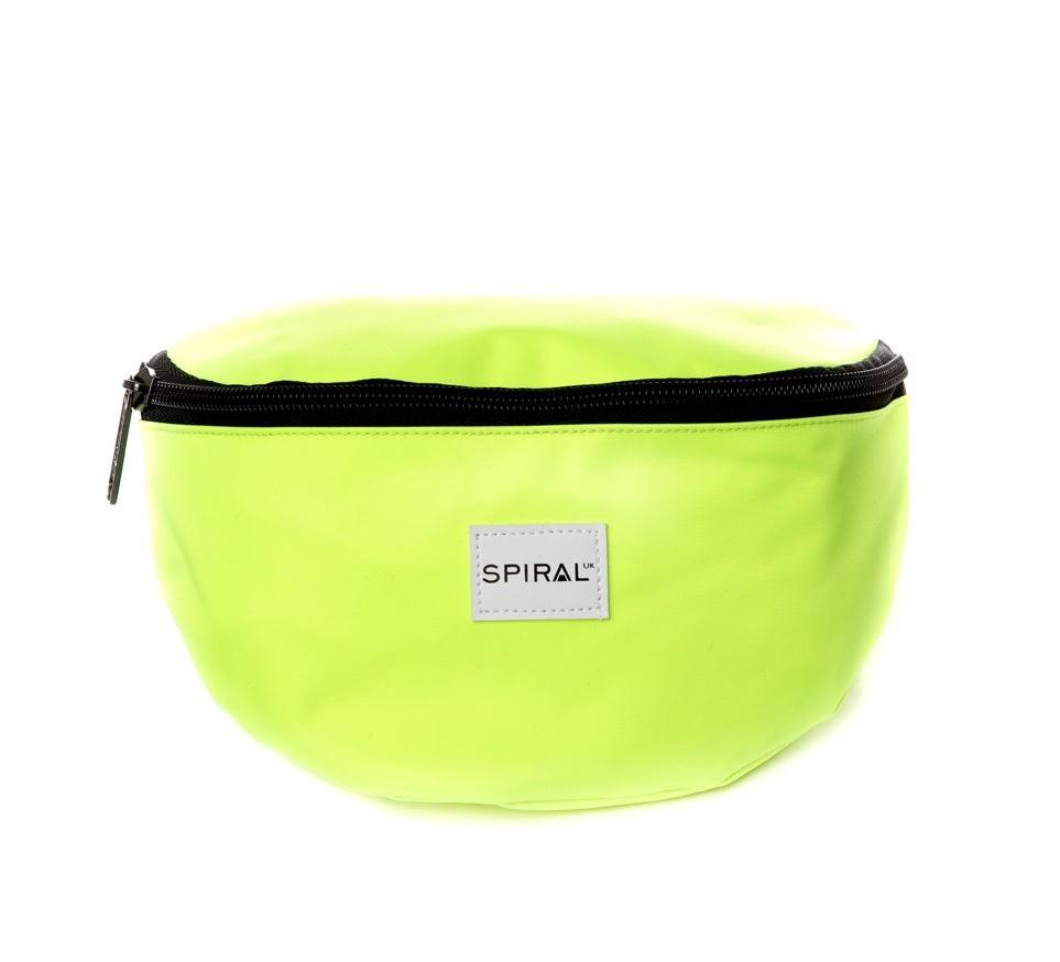 Spiral Bum Bag Neon Yellow