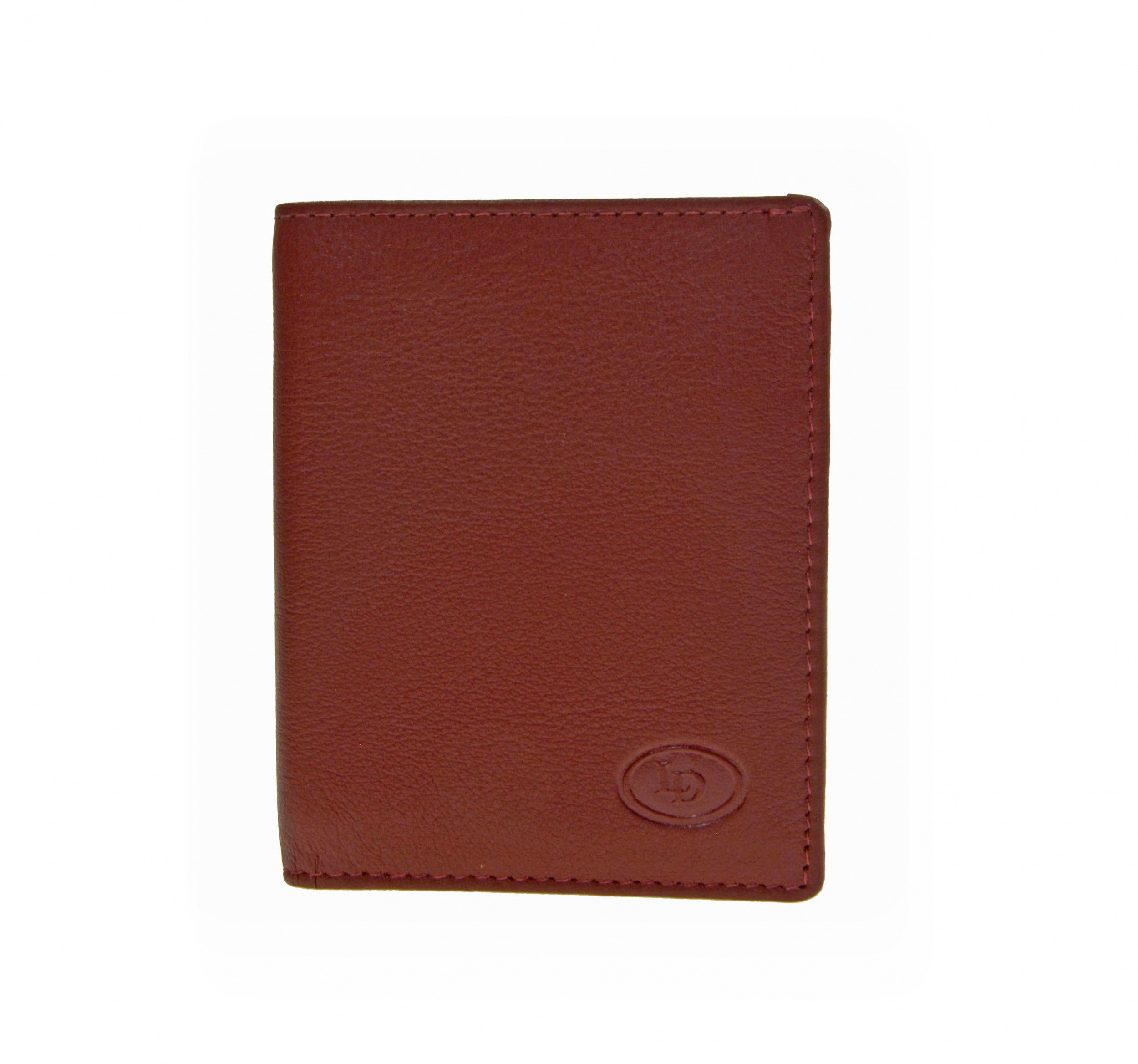Leather Design Creditcard etui KA 1119 Rood