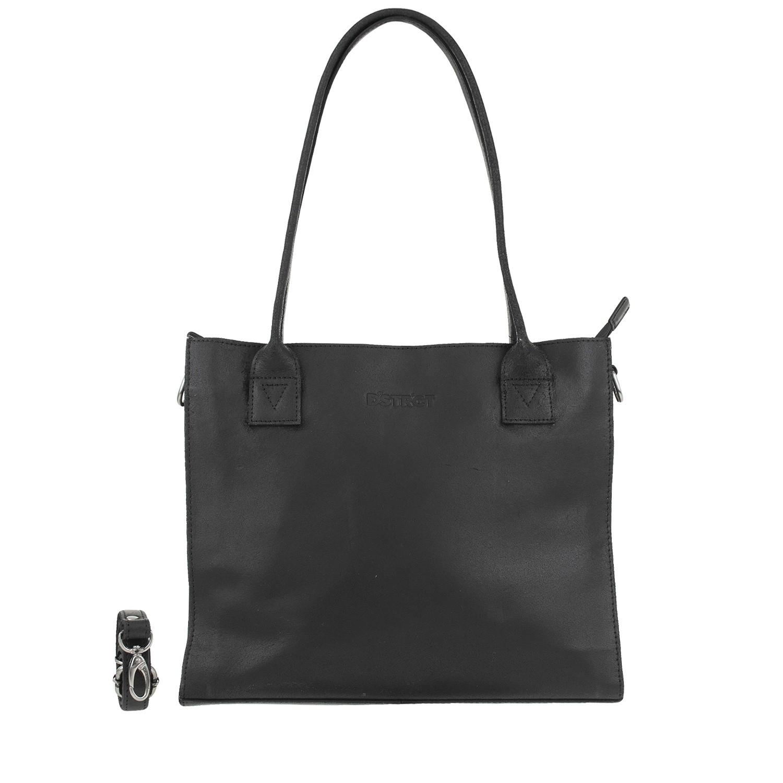 DSTRCT Riverside 012130 Shopper Small Black