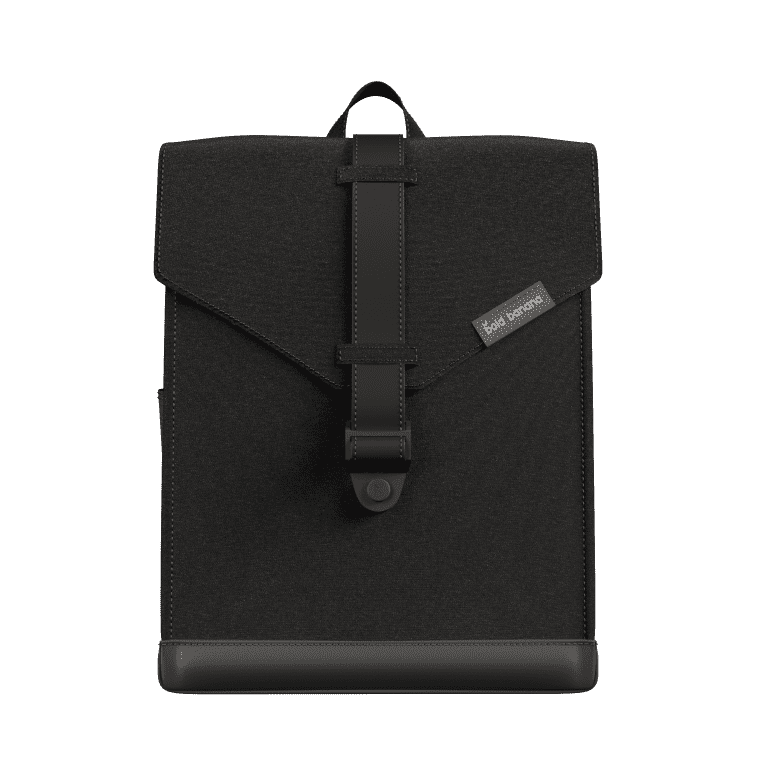 Bold Banana Laptop Backpack Beautiful Black