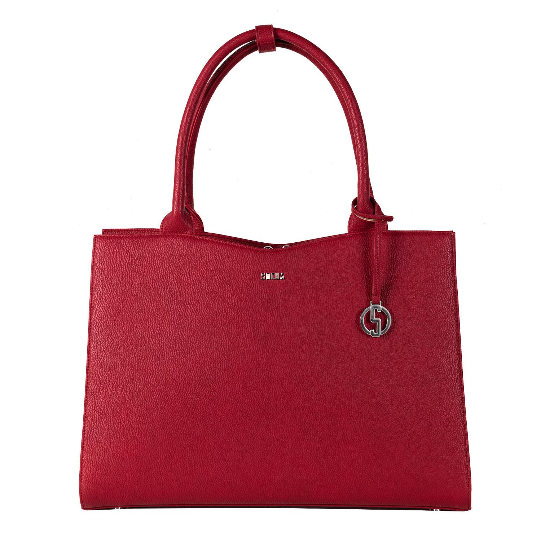 Socha Businessbag Straight Line Red - 14