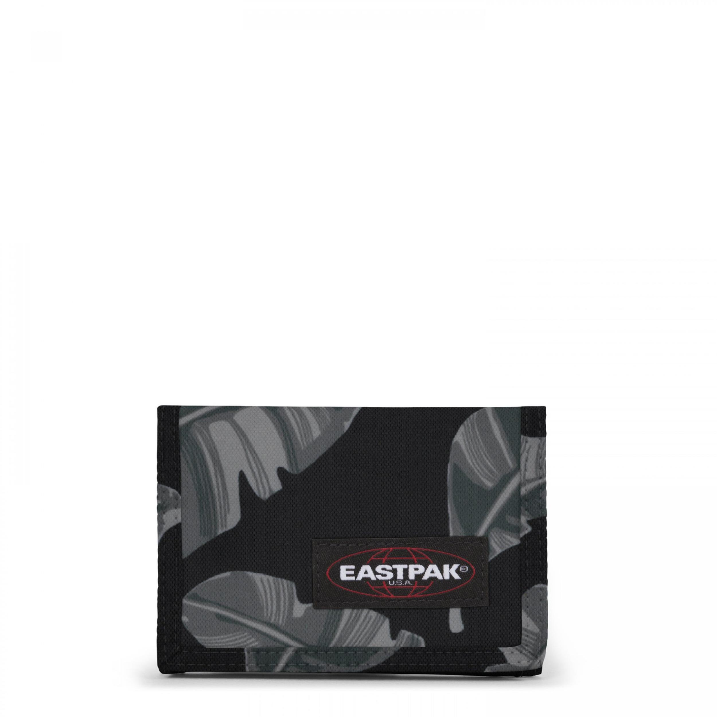 Eastpak CREW SINGLE Portemonnee Brize Leaves Black