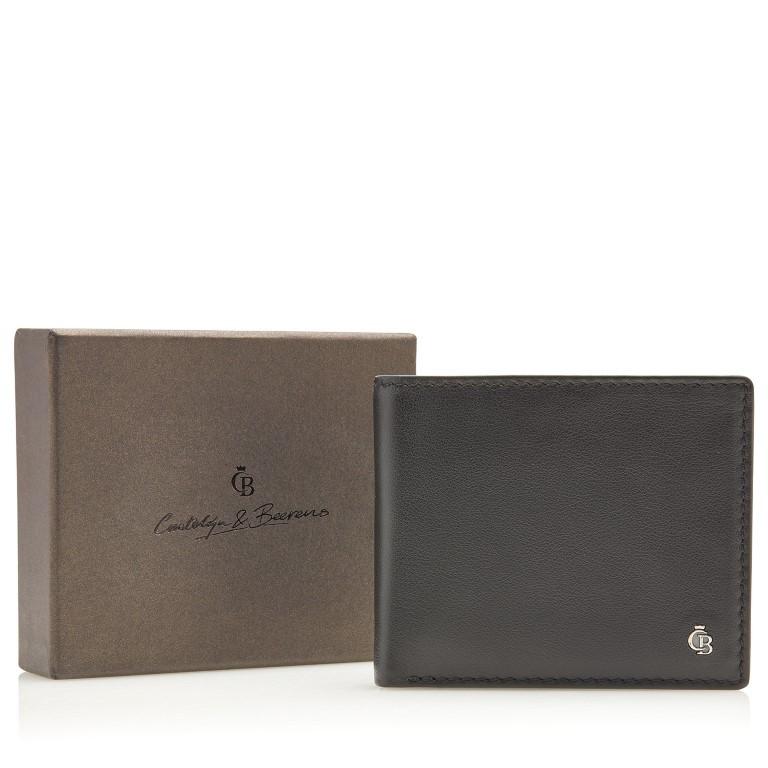 Castelijn & Beerens, Giftbox 80 4198 Billfold 8 creditcards Zwart