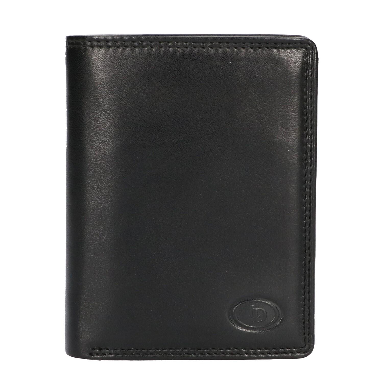 Leather Design Billfold AH 2212 Zwart