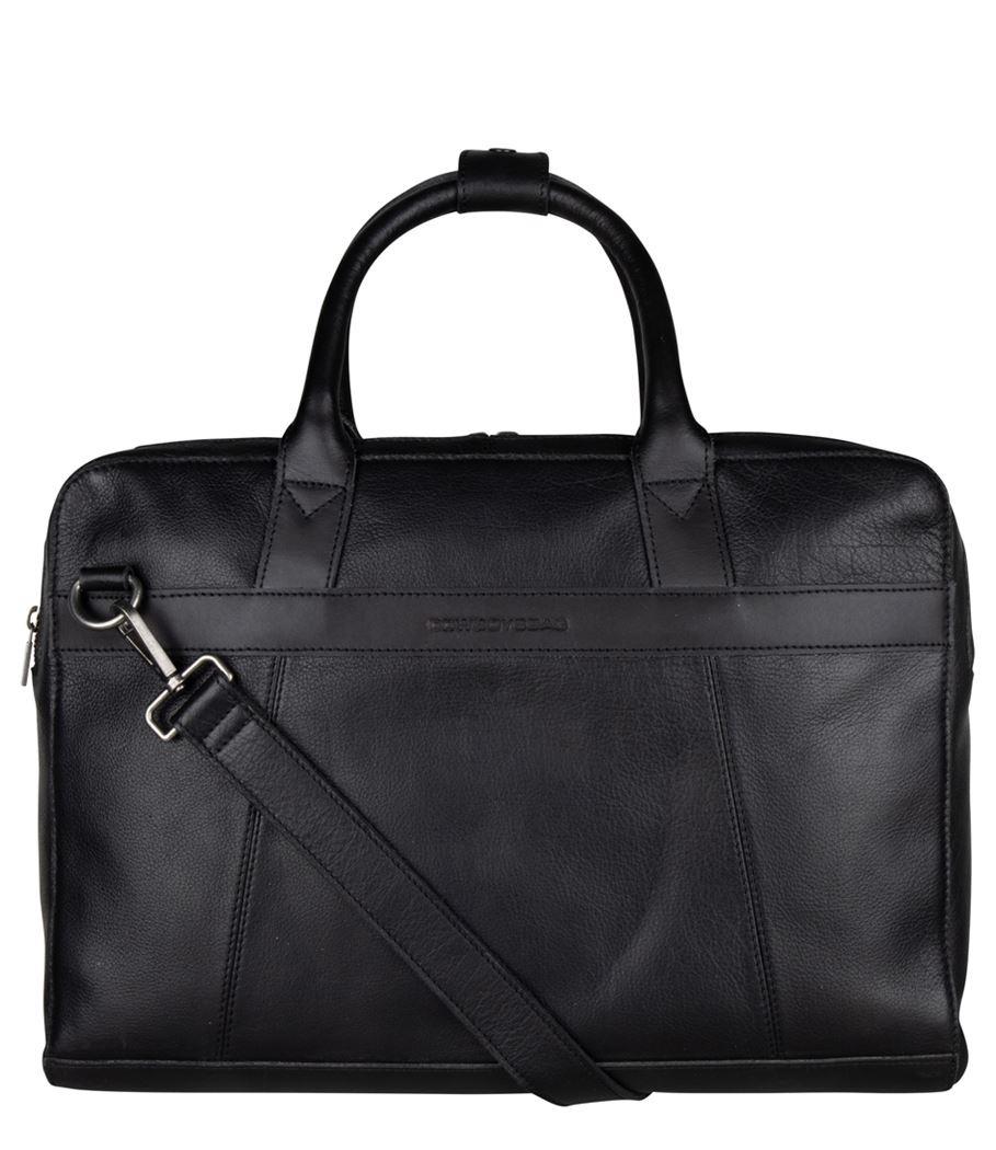 Cowboysbag Men Laptop Bag Ross 15.6 inch 2291 Black