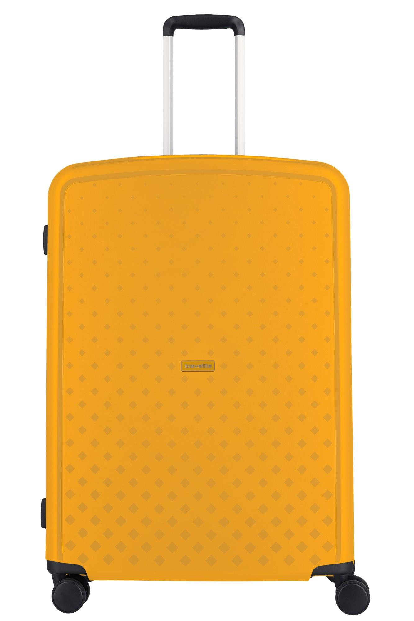 Travelite Terminal 4 Wiel Trolley L 076049 Yellow