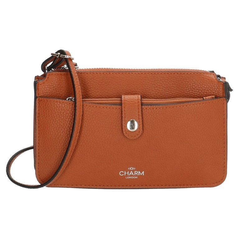 Charm London Stratford Schoudertas Small 18024 Cognac