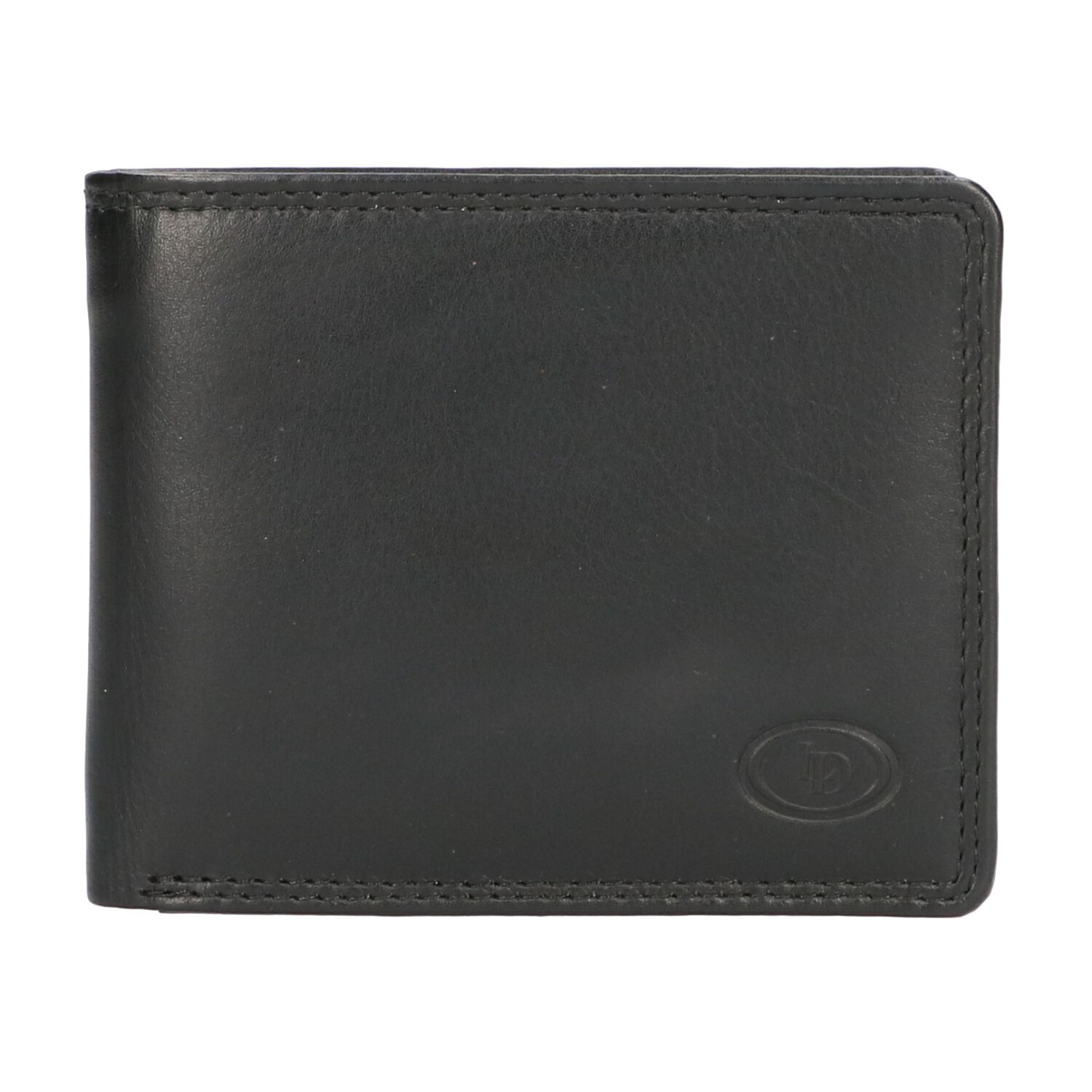 Leather Design Billfold AH 2755 Zwart